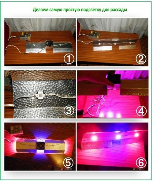 Лампы для рассады: какую выбрать подсветку и как изготовить своими руками