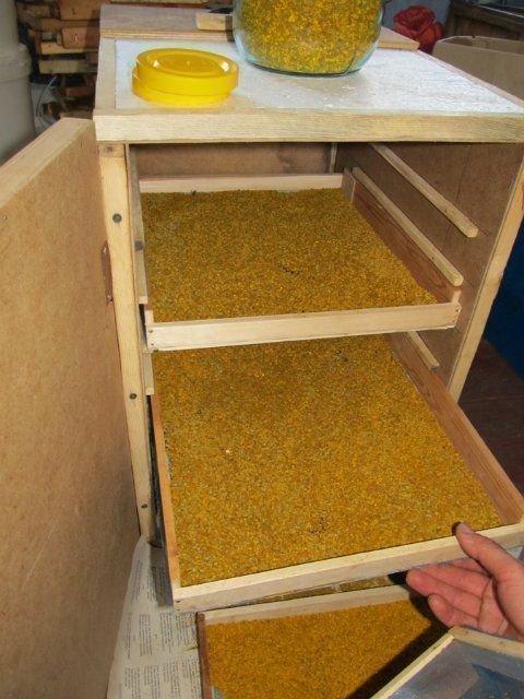 Сушилка для пыльцы своими руками: инструкции по сборке, нюансы сушки, видео