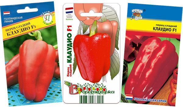 Перец Клаудио f1: характеристика сорта, фото, отзывы и агротехника