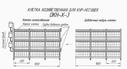 Клетки для кур-несушек своими руками: виды, инструкции, чертежи, советы