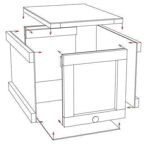 Ящик для переноски рамок (рамонос) своими руками