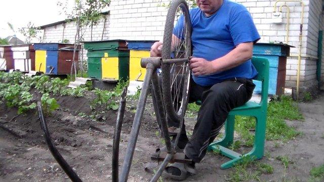 Ручной окучник для картофеля из велосипеда своими руками: пошаговая инструкция